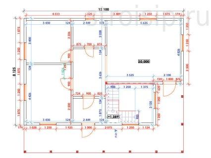 Смета строительства дома из