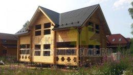 Д-62 Хутір - будинок з профільованого бруса 210мм