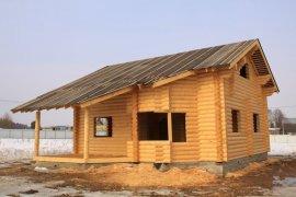 Фото: готовий проект будинку з колоди