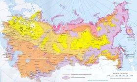 Карта вітрових навантажень