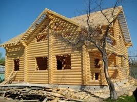 Будівництво дерев'яних будинків в Москві.  Ціна.