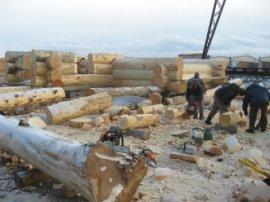 Будівництво дерев'яного будинку з кедра під ключ: ціни, фото