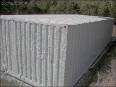 Утеплення будинку з контейнерів